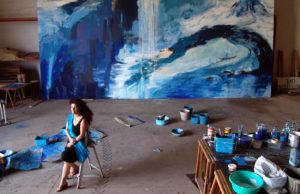 RUFINA SANTANA. Oceánicos Azules